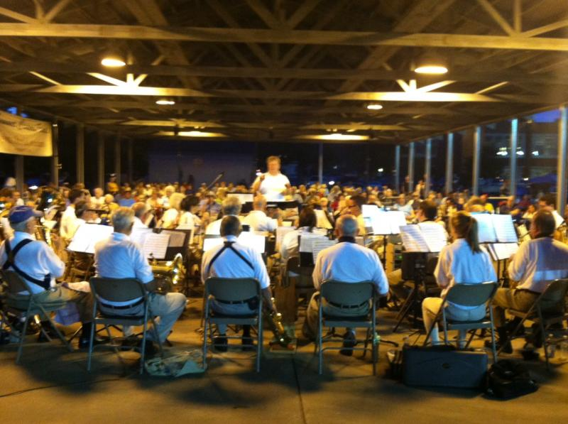 Milford Concert Band Harbor Lights Concert 2014